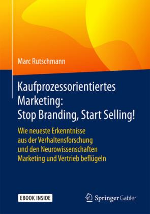 Kaufprozessorientiertes Marketing: Stop Branding, Start Selling!
