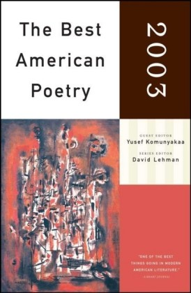 Best American Poetry 2003