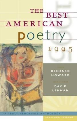 Best American Poetry 1995