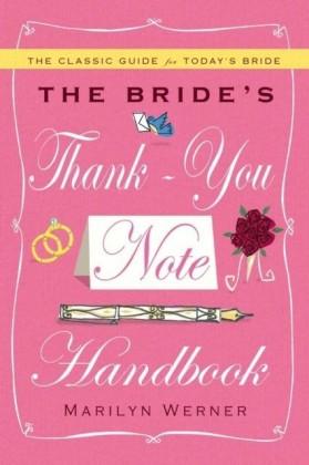 Bride's Thank-You Note Handbook