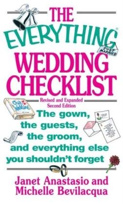 Everything Wedding Checklist
