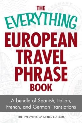 Everything European Travel Phrase Book