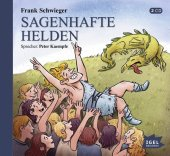 Sagenhafte Helden, 1 Audio-CD Cover