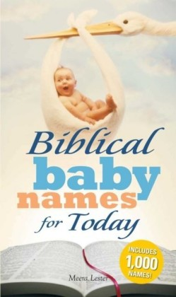Biblical Baby Names for Today