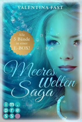 MeeresWeltenSaga: Alle 5 Bände der fantastischen Meerjungfrau-Reihe in einer E-Box!