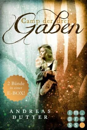 """Camp der drei Gaben: Alle Bände der fantastischen """"Camp der drei Gaben""""-Reihe in einer E-Box"""
