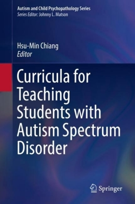 Curricula for Teaching Students with Autism Spectrum Disorder