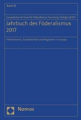 Jahrbuch des Föderalismus 2017