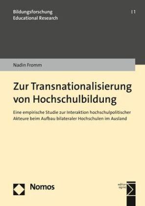 Zur Transnationalisierung von Hochschulbildung