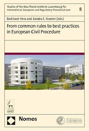 From common rules to best practices in European Civil Procedure