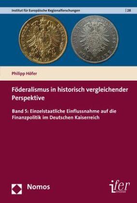 Föderalismus in historisch vergleichender Perspektive