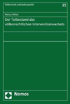 Der Tatbestand des völkerrechtlichen Interventionsverbots