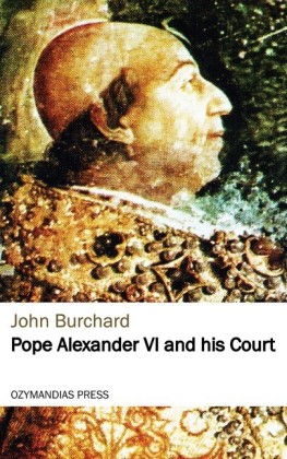 Pope Alexander VI and his Court