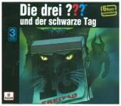 Die drei ??? - Special Kurzgeschichte: Der schwarze Tag, 3 Audio-CDs Cover
