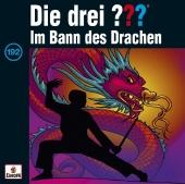 Die drei ??? - im Bann des Drachen, 1 Audio-CD Cover