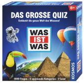 WAS IST WAS Das große Quiz (Kinderspiel) Cover