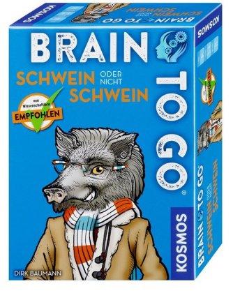 BRAIN TO GO® - Schwein oder nicht Schwein (Spiel)