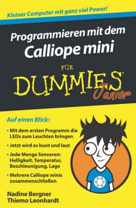 Programmieren mit dem Calliope mini für Dummies Junior