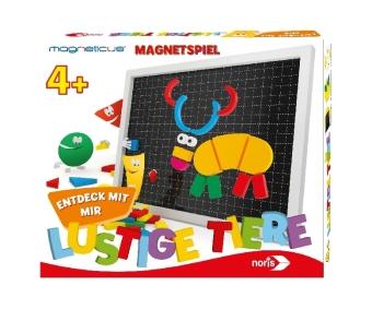 Magneticus Entdeck mit mir-Lustige Tiere (Kinderspiel)