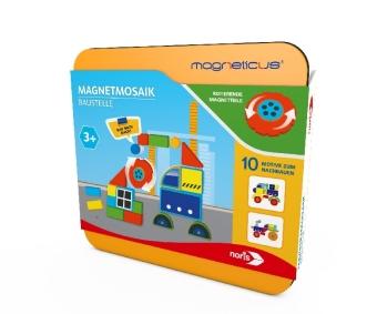 Magneticus Magnetmosaik - Baustelle (Kinderspiel)