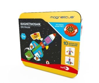 Magneticus Magnetmosaik - Weltraum (Kinderspiel)