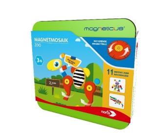 Magneticus Magnetmosaik - Zoo (Kinderspiel)