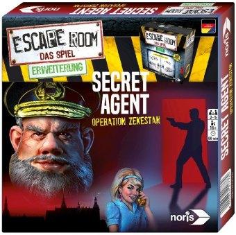 Escape Room Secret Agent (Spiel-Zubehör)