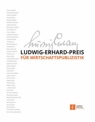 Ludwig-Erhard-Preis für Wirtschaftspublizistik