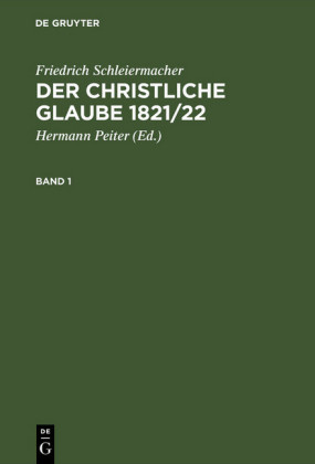 Der christliche Glaube 1821/22