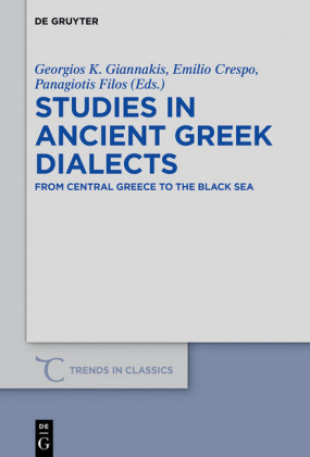 Studies in Ancient Greek Dialects