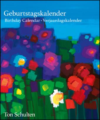 Ton Schulten Flowers Geburtstagskalender