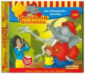 Benjamin Blümchen - Der Dinosaurierknochen, 1 Audio-CD Cover