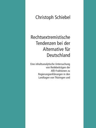 Rechtsextremistische Tendenzen bei der Alternative für Deutschland