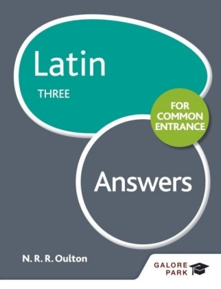 Latin for Common Entrance Three Answers