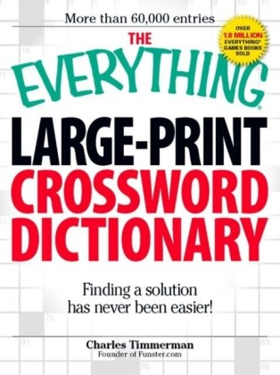 Everything Large-Print Crossword Dictionary