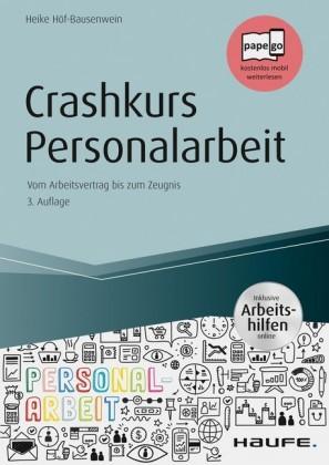 Crashkurs Personalarbeit - inkl. Arbeitshilfen online
