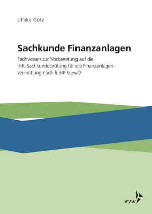 Sachkunde Finanzanlagen
