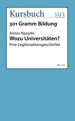 Wozu Universitäten?