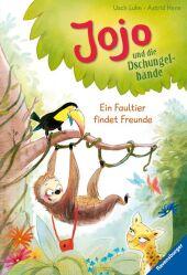 Jojo und die Dschungelbande - Ein Faultier findet Freunde Cover