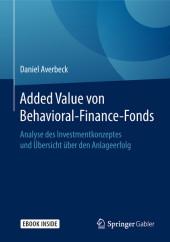 Added Value von Behavioral-Finance-Fonds