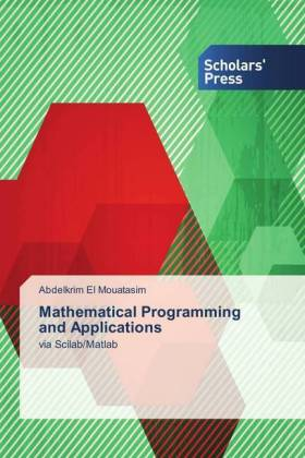 Mathematical Programming and Applications