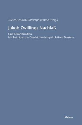 Jakob Zwillings Nachlass