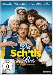 Die Sch'tis in Paris - Eine Familie auf Abwegen, 1 DVD Cover