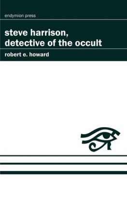 Steve Harrison, Detective of the Occult