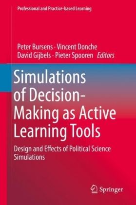 Simulations of Decision-Making as Active Learning Tools