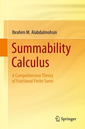 Summability Calculus