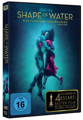 Shape of Water: Das Flüstern des Wassers, 1 DVD
