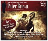 Die rätselhaften Fälle des Pater Brown - Box 2, 3 Audio-CD