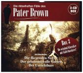 Die rätselhaften Fälle des Pater Brown - Box 3, 3 Audio-CD