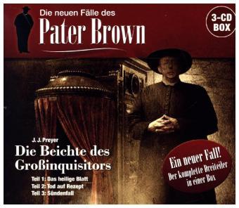 Die neuen Fälle des Pater Brown - Box, 3 Audio-CD